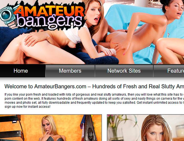 Bangers amateur porn