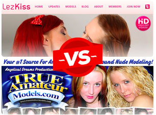 lezkiss vs trueamateurmodels