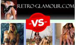 retroglamour vs mythicwomen