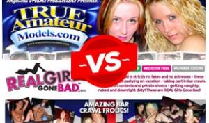 true amateur models vs real girls gone bad