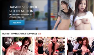 Top paid adult site for public sex scenes in Japan