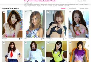 Good pay porn website if you like Japanese women
