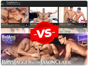 gayroom vs belami