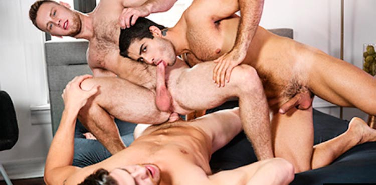 Top premium sex site to watch gay orgy porn content