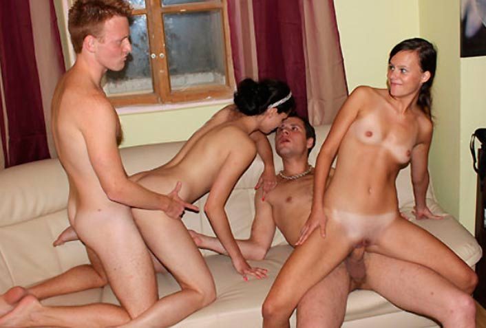 My favorite pay adult site to watch group sex action