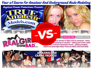 true amateur models vs real girls gone bad