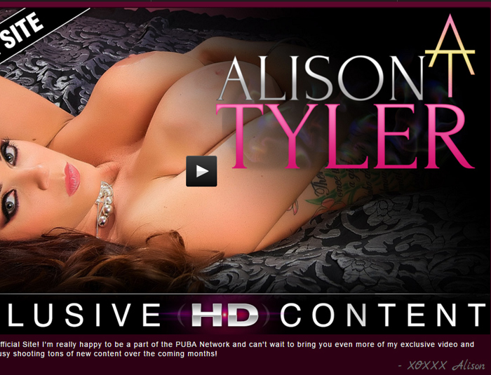 Nice paid xxx site with the hot Alison Tyler